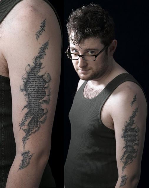 татуировки надписи (18)