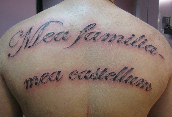 татуировки надписи (30)
