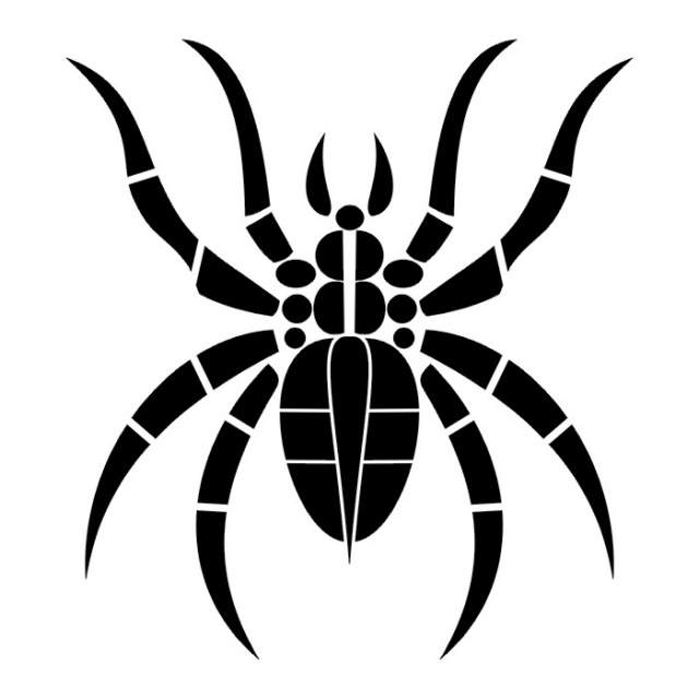 эскиз паука (9)