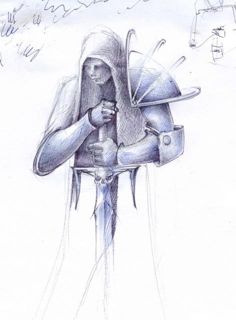 Татуировка рыцаря