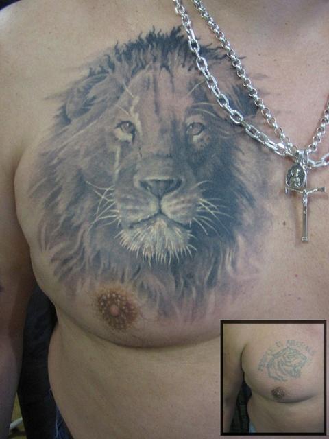 лев татуировка (3)
