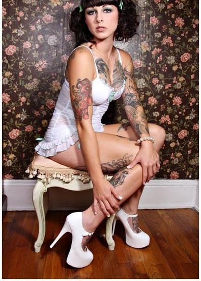 Татуировки для девушек на теле