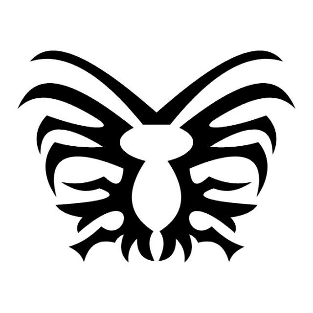 эскизы татуировок бабочки (30)