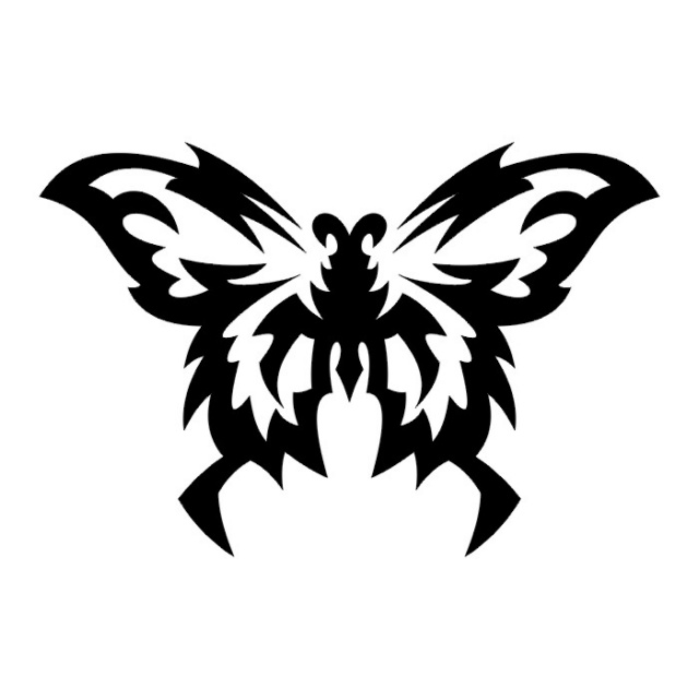 эскизы татуировок бабочки (21)