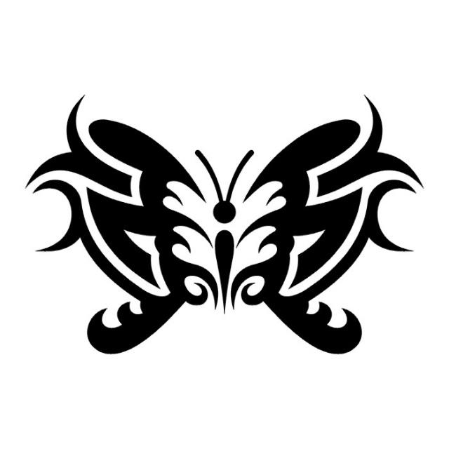 эскизы татуировок бабочки (18)