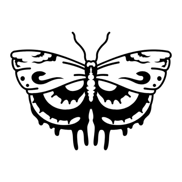 эскизы татуировок бабочки (15)
