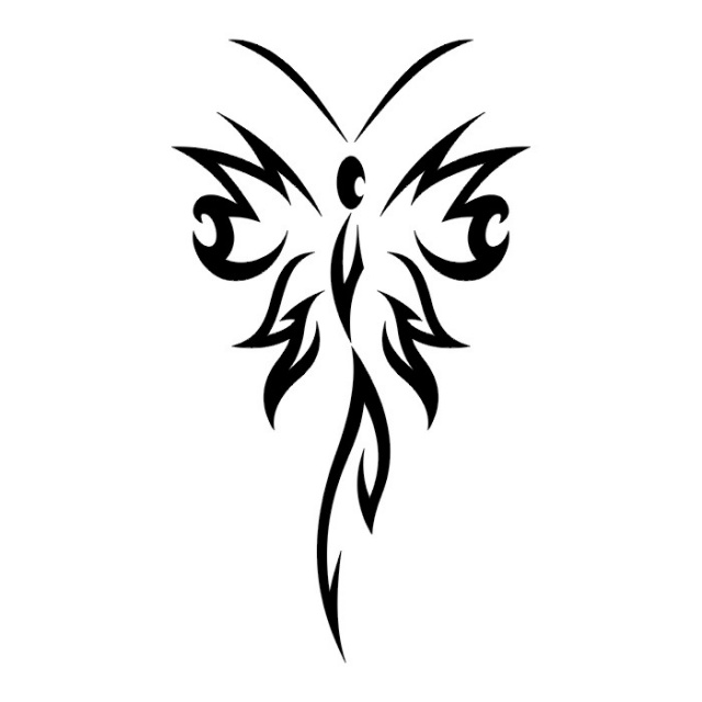 эскизы татуировок бабочки (14)