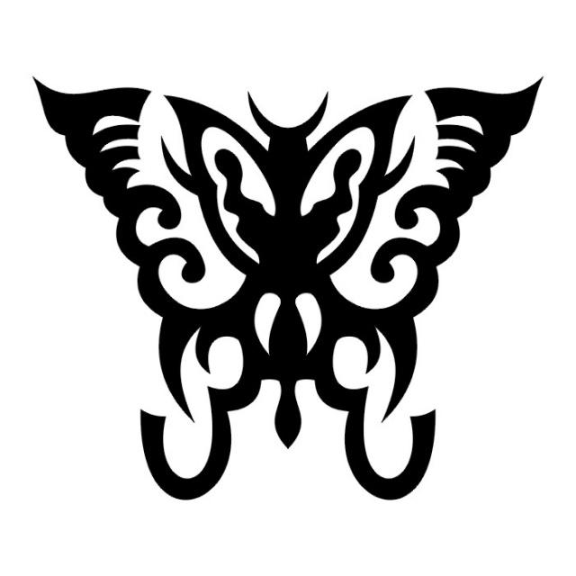 эскизы татуировок бабочки (29)