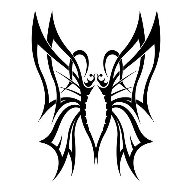 эскизы татуировок бабочки (11)