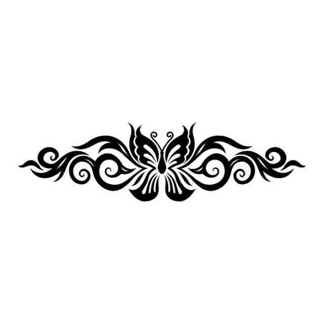 эскизы татуировок бабочки (9)