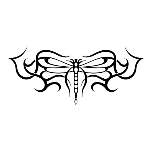 эскизы татуировок бабочки (8)