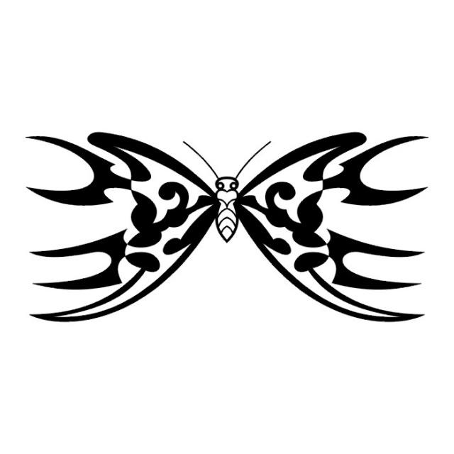 эскизы татуировок бабочки (6)