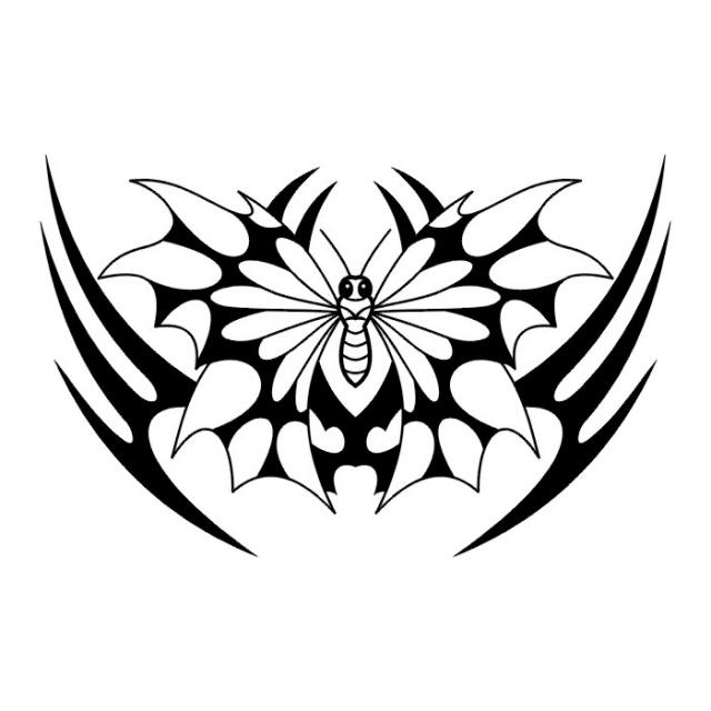 эскизы татуировок бабочки (4)