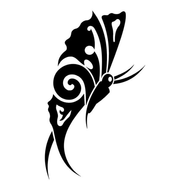 эскизы татуировок бабочки (3)
