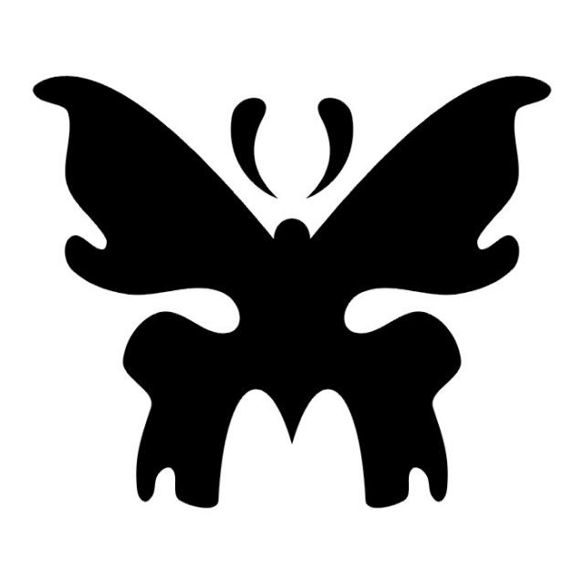 эскизы татуировок бабочки (28)