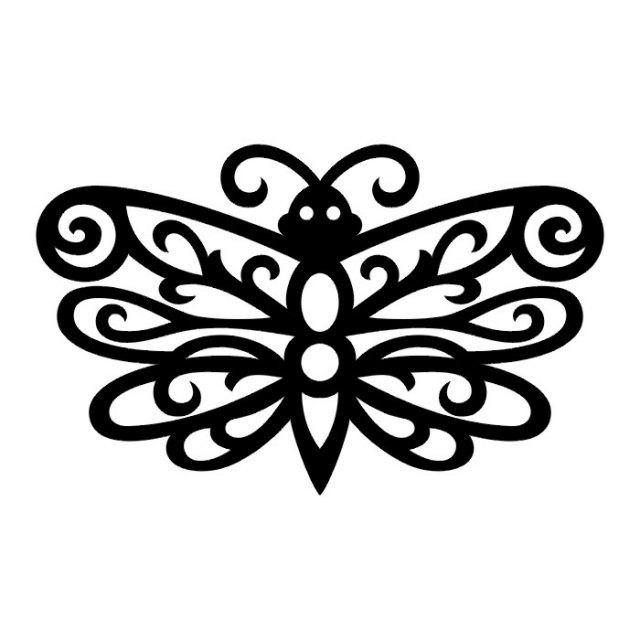 эскизы татуировок бабочки (27)