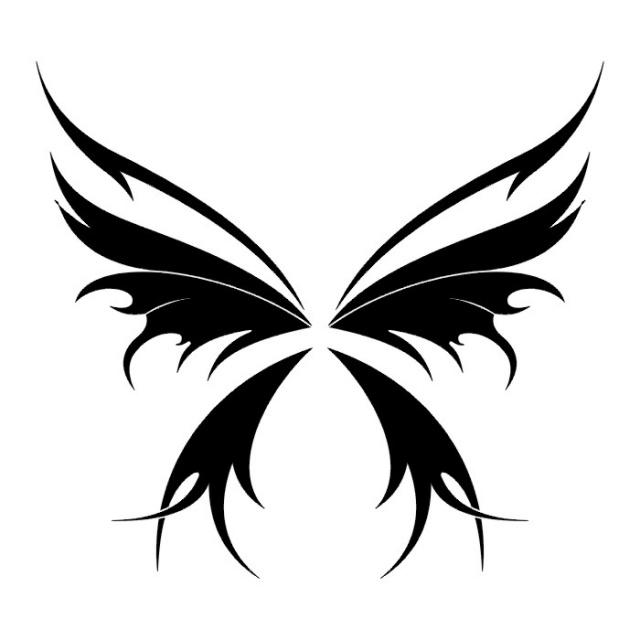 эскизы татуировок бабочки (24)
