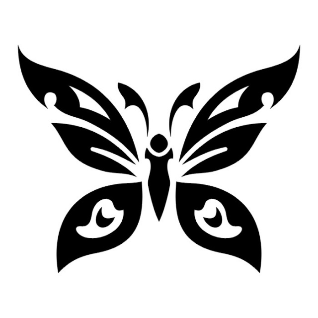 эскизы татуировок бабочки (23)