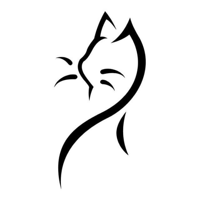 татуировка кот (8)