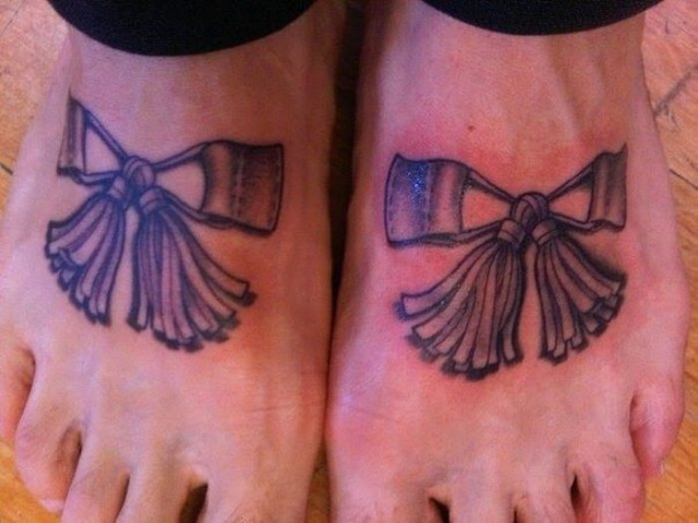 татуировки на ноге (4)