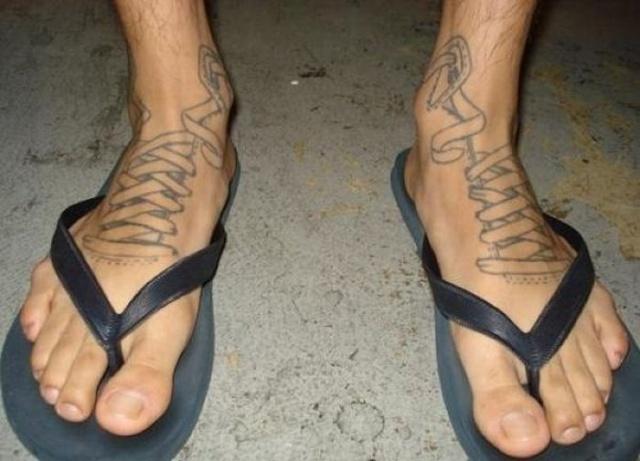 татуировки на ноге (2)