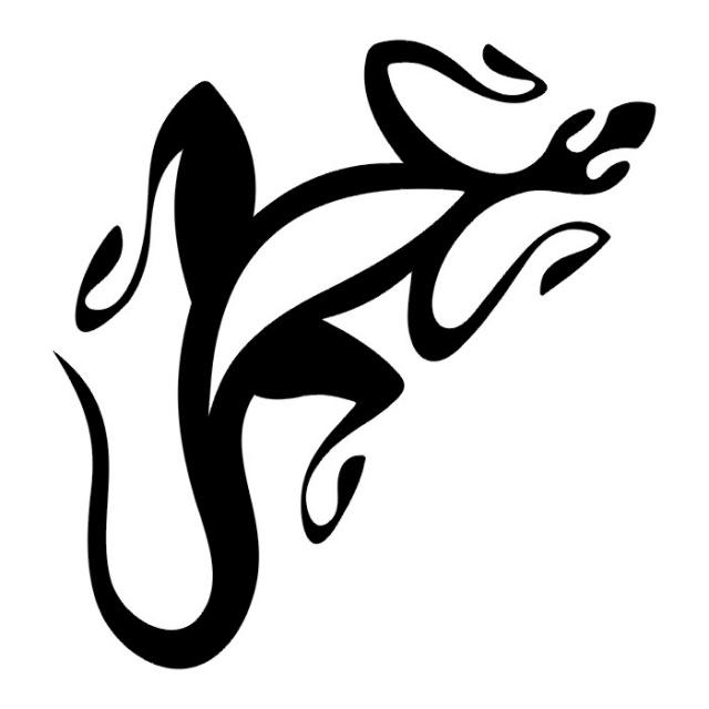 татуировка ящерица (1)