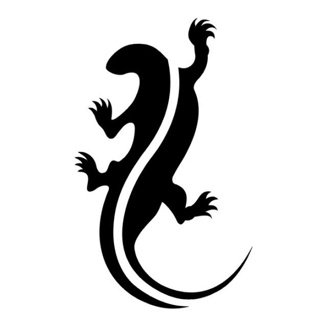 татуировка ящерица (22)