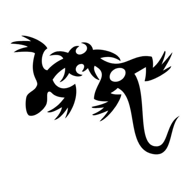 Татуировка ящерица — 24 фото