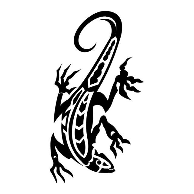 татуировка ящерица (18)