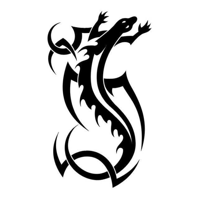 татуировка ящерица (17)