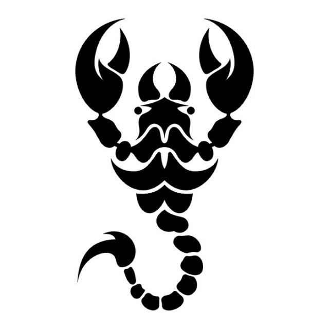 эскизы татуировки скорпиона  (10)