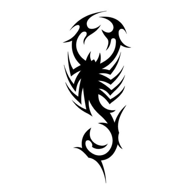эскизы татуировки скорпиона  (15)
