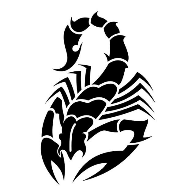 картинки наколки скорпион