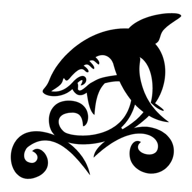 эскизы татуировок акулы (4)