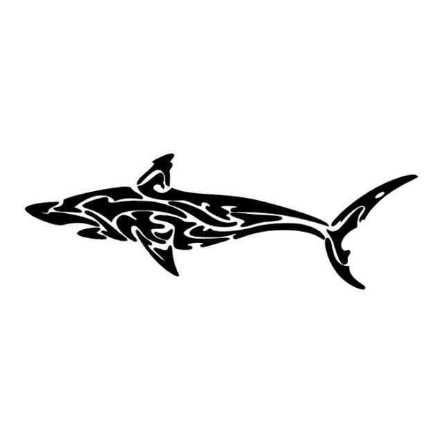 эскизы татуировок акулы (8)