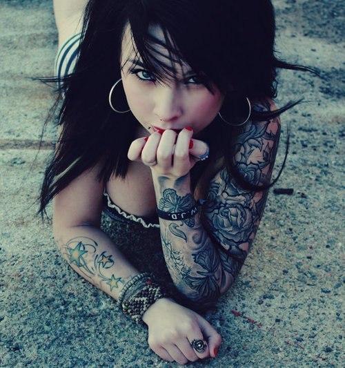 Девушки и татуировки (16)