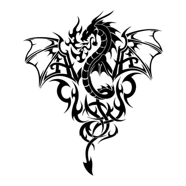 эскизы дракона (1)