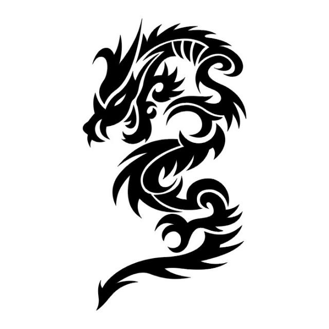 эскизы дракона (22)