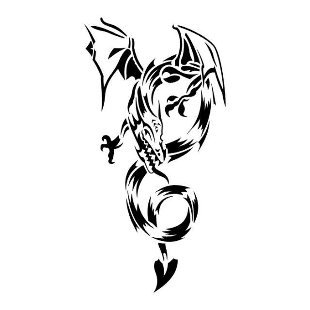 эскизы дракона (20)