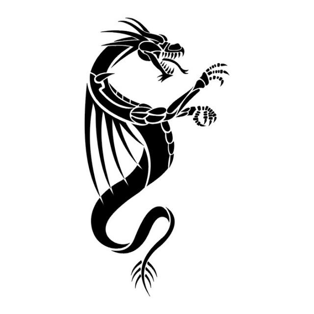 эскизы дракона (19)