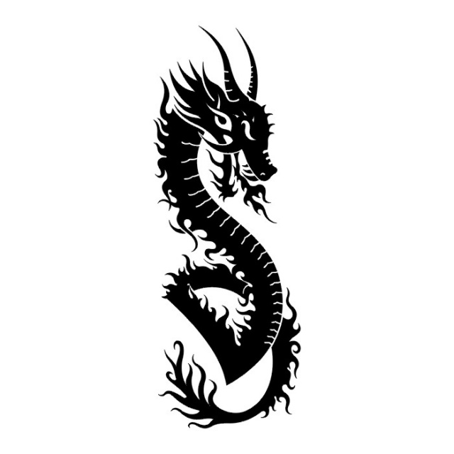 эскизы дракона (18)