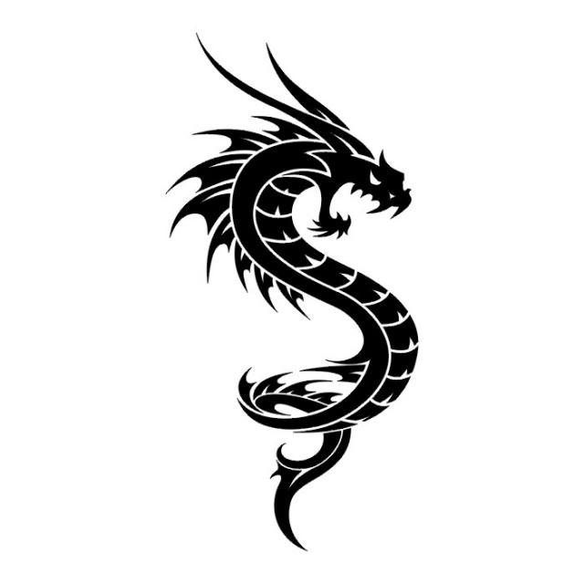 эскизы дракона (17)