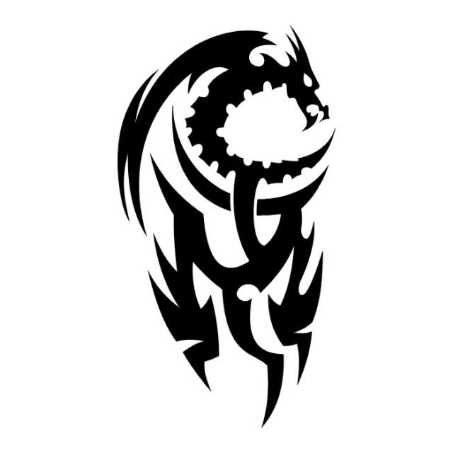 эскизы дракона (16)