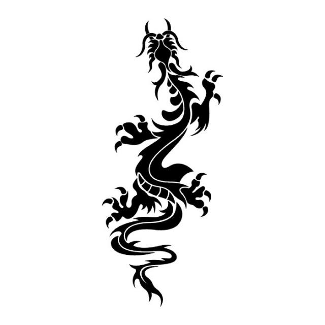 эскизы дракона (15)