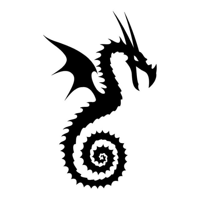 эскизы дракона (13)