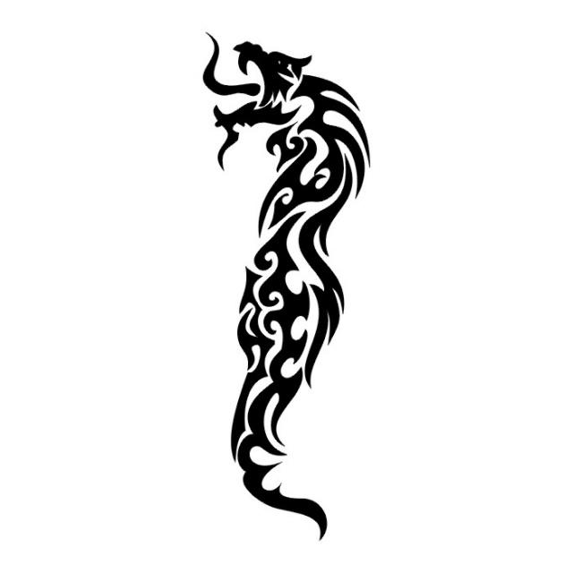 эскизы дракона (12)