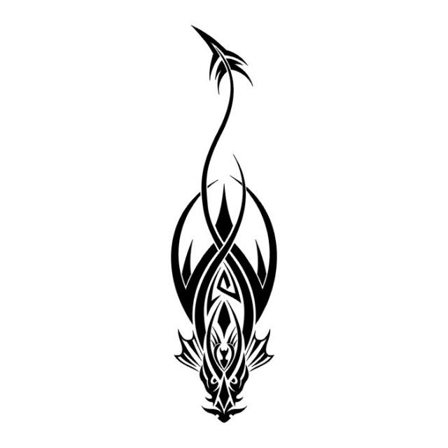 эскизы дракона (10)