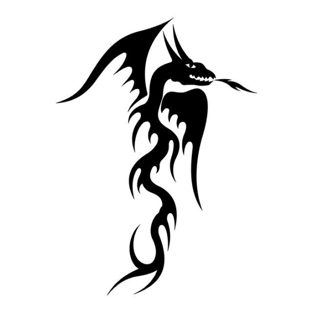 эскизы дракона (9)