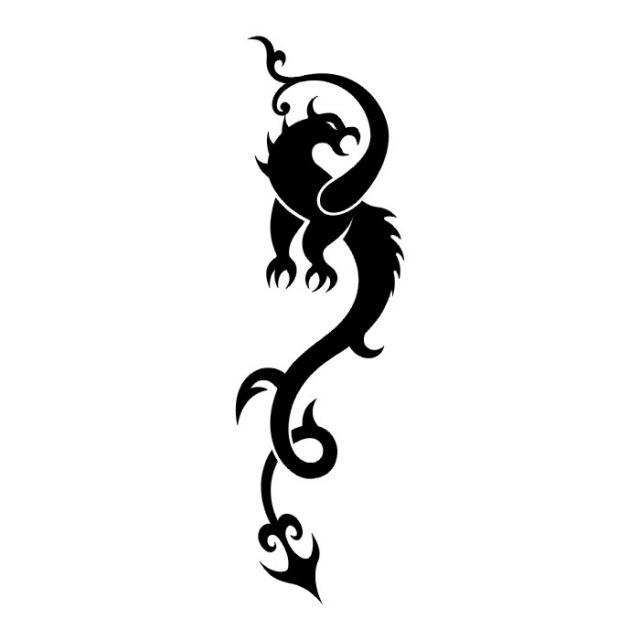 эскизы дракона (3)