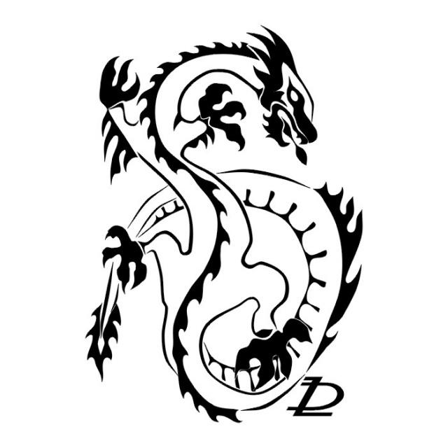 эскизы дракона (29)